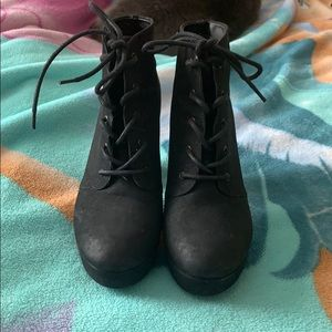 Women's Black Booties